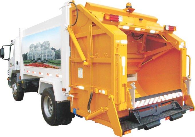 Caminhão de Lixo CCL