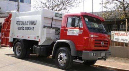 Caminhão Coletor Compactador de lixo